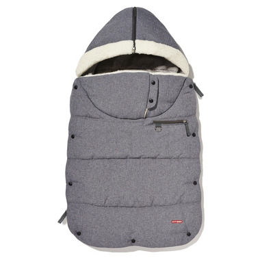 Skip Hop Heather Grey Stroll & Go Three Season Footmuff Toddler