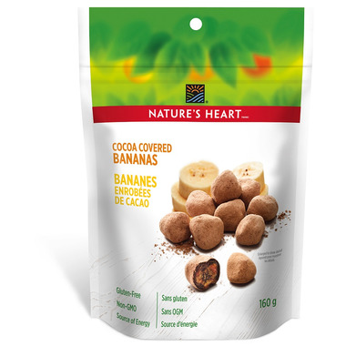 NATURE\'S HEART Cocoa Covered Bananas