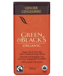 Green & Black's Organic Dark Chocolate Ginger Bar