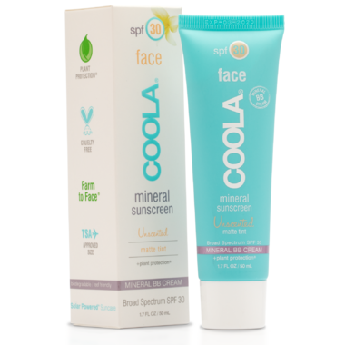 COOLA Face Mineral Sunscreen SPF 30 Matte Tint Natural Beige