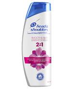 Head & Shoulders Smooth & Silky 2 in 1 Dandruff Shampoo + Conditioner