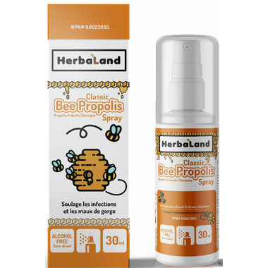 Herbaland Kid's Bee Propolis Spray