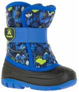 Kamik Snowbug4 Kid's Boots Blue Critters