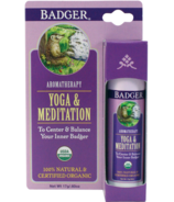 Badger Aromatherapy Yoga & Meditation Balm Stick