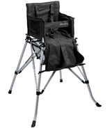 One2Stay Black Portable High Chair