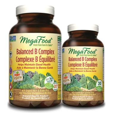 MegaFood Balanced B Complex Bonus Pack