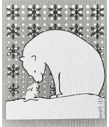 Wet-it Swedish Dish Cloth Polar Bear