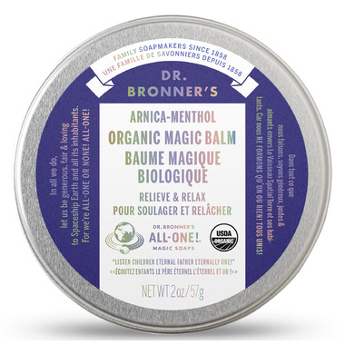Dr. Bronners Organic Arnica Menthol Magic Balm