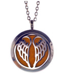 Finesse Home Angel Wings Aroma Pendant Necklace