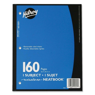 Hilroy Neatbooks Subject Notebooks