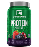 Ergogenics Nutrition Plant Protein +Greens Berry
