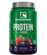 Ergogenics Nutrition Plant Protein +Greens Berry Large