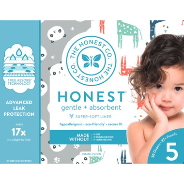 The Honest Company Club Pack Diapers Size 5