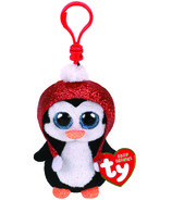 Ty Flippables Gale The Christmas Sequin Penguin Clip