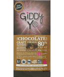 Giddy Yoyo Organic Dark Chocolate Bar Chaga