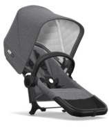 Bugaboo Donkey2 Classic Duo Extension Complete Black & Grey Melange