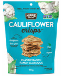 Hippie Snacks Cauliflower Crisps Classic Ranch