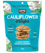 Hippie Snacks Cauliflower Crisps Classic Ranch