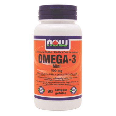 NOW Foods OMEGA-3 Mini
