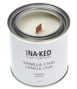Buck Naked Soap Company Vanilla Chai Candle