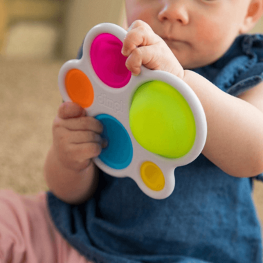 Fat Brain Toys Dimpl Baby Sensory Toy