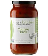 Mia's Kitchen Tomato Basil Pasta Sauce