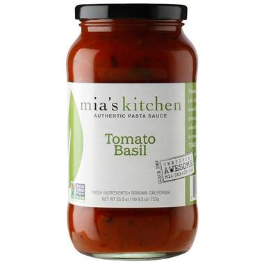 Mia\'s Kitchen Tomato Basil Pasta Sauce