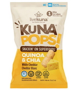 livekuna KunaPops Super Grain Snack White Cheddar with Probiotics