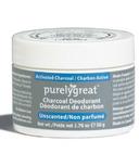 Purelygreat Unscented Charcoal Cream Deodorant