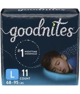 Huggies GoodNites Couches de nuit pour garçons Paquet géant