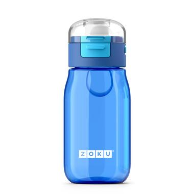 Zoku Kids Flip Gulp Bottle Blue