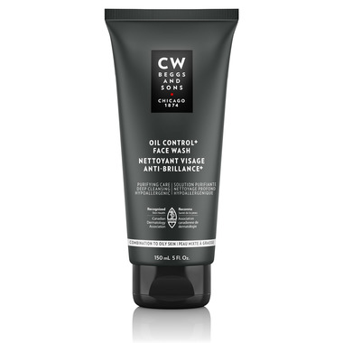 CW Beggs and Sons Oil Control + Face Wash Combination To Oily Skin