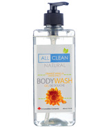 All Clean Natural Orange Vanilla Body Wash