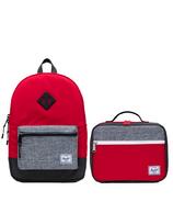 Herschel Supply Red, Raven Crosshatch & Black Crosshatch Bundle
