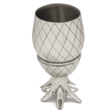 W&P Pineapple Tumbler Silver