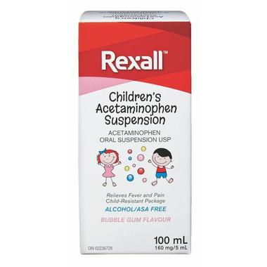 Rexall Children\'s Acetaminophen Suspension