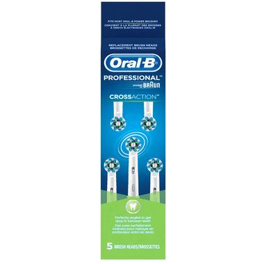 Oral-B Cross Action Brush Head Refills
