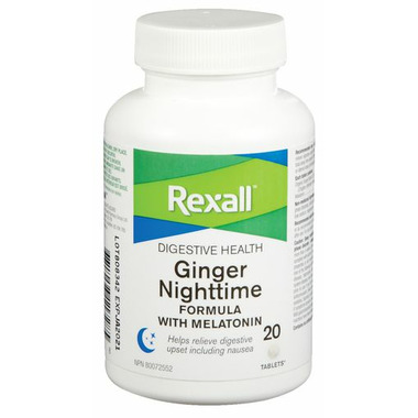 Rexall Ginger Night Time Formula With Melationin