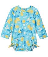 Hatley Cute Lemons Baby Rashguard Swimsuit