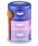 JusTea Purple Tea Trio Tin with Spoon