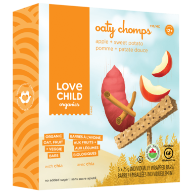 Love Child Organics Oaty Chomps Apple Sweet Potato