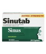 Sinutab Sinus Extra Strength