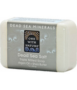 One With Nature Dead Sea Salt Bar Soap