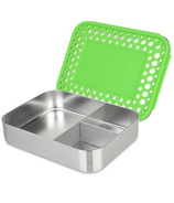 LunchBots Trio Bento Green Dots