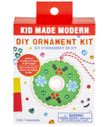 Kid Made Modern Wooden Wreath Ornament Kit