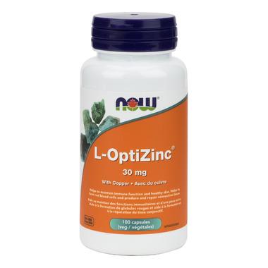 NOW Foods L-OptiZinc 30mg