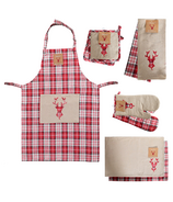 Domay Holiday Deer Kitchen Bundle