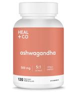 HEAL + CO. Ashwagandha 5:1 extract 500mg