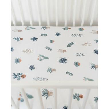 Little Unicorn Brushed Crib Sheet Prickle Pots