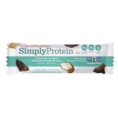 Simply Protein Bars Chocolate Coconut Case